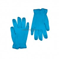 VINYL GLOVES LARGE BLUE (PACK OF 100)