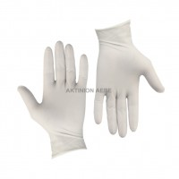 LATEX GLOVES MEDIUM (PACK OF 100)