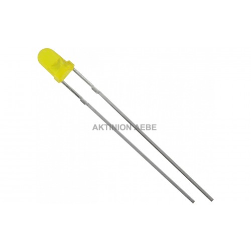 led 3mm yellow