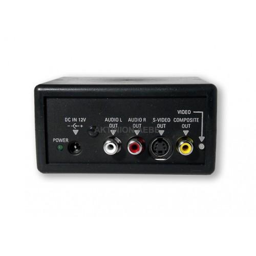 ΜΕΤΑΤΡΟΠΕΑΣ RGB ΣΕ S-VHS & COMPOSITE Εικόνα - Ήχος