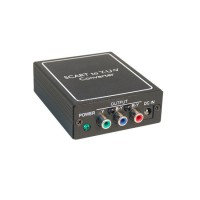 ΜΕΤΑΤΡΟΠΕΑΣ SCART/RGB σε COMPONENT (χρωμοδιαφορές) Εικόνα - Ήχος