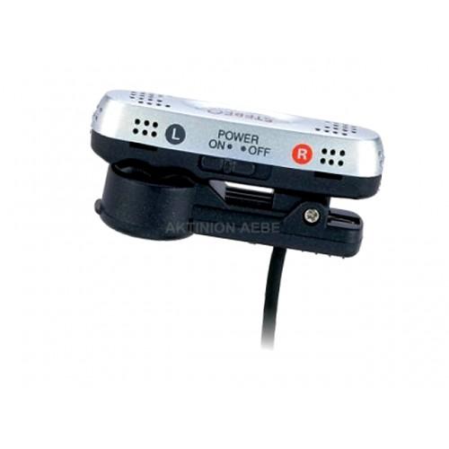 Μικρόφωνο στερεοφωνικό AIWA τύπου ψείρα