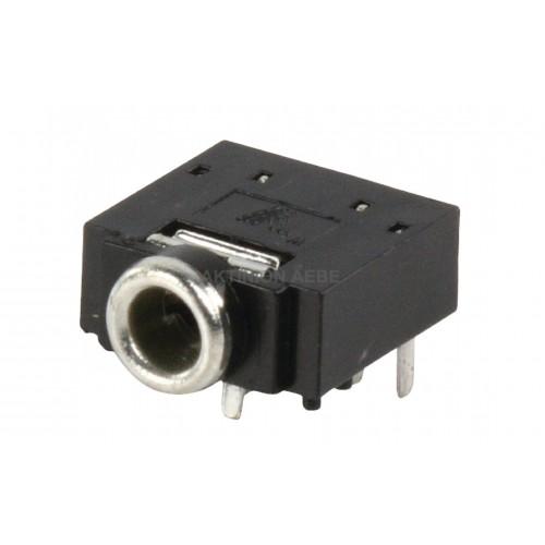 Σασί για Stereo βύσμα 3,5mm χωρίς διακόπτη JC-128NS