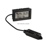DIGITAL HYGROMETER/THERMOMETER FOR PANEL MOUNTING Velleman PMHYGRO