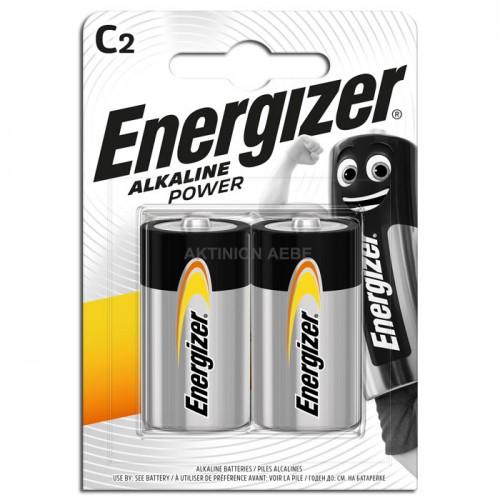 ENERGIZER ALKALINE POWER C Αλκαλικές μπαταρίες Εnergizer C-LR14 σε blister 2 τεμαχίων