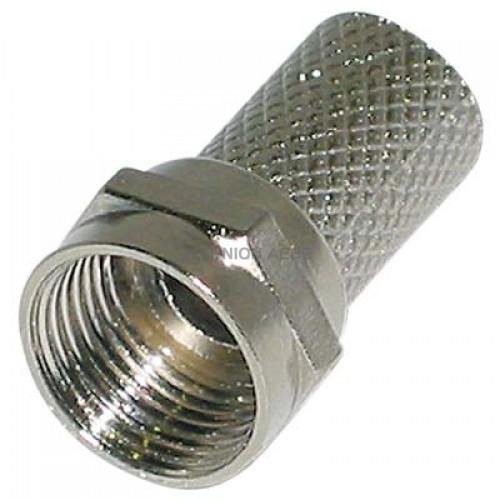 FC-001 F twist-on 7mm για σύνδεση στο καλώδιο χωρίς τη χρήση ειδικής πένσας