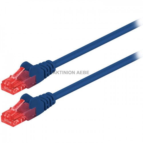 68437 CAT 6, UTP patchcable