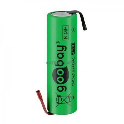 55509 Επαναφορτιζόμενη μπαταρία 1.2V 2100mAh AA (Mignon) Ni-MH με λαμάκια