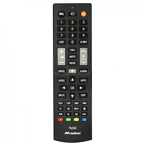 MELICONI TLC02 Τηλεχειριστήριο αντικατάστασης για τηλεοράσεις LG