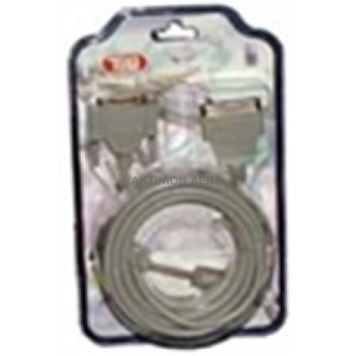 Καλώδιο D-SUB 25-Pin αρσ. - Centronics 36-Pin αρσ., 5.00m JCR-405