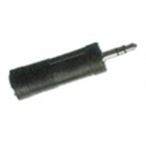 Adaptor 6,3/3,5 Stereo AA-034