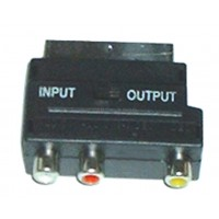 ADAPTOR SCART ΣΕ 3 RCA CR-320