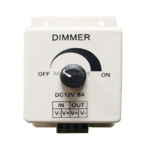 DIMMER LED 12V 8Α DCR-102