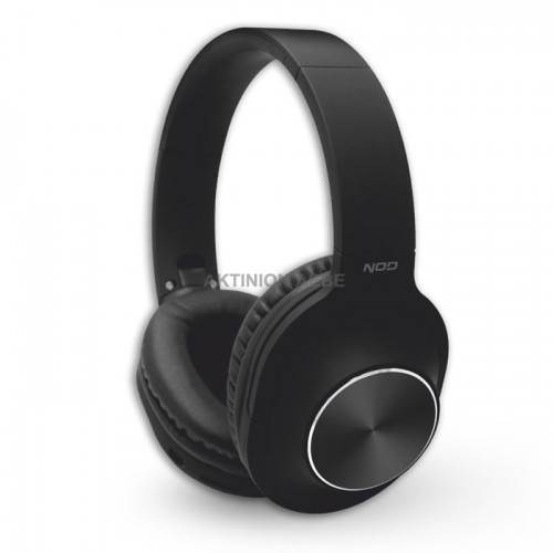 NOD PLAYLIST BLACK Bluetooth over-ear headphones with microphone