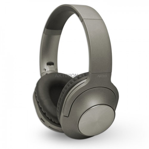 NOD PLAYLIST GREY Bluetooth over-ear headphones with microphone