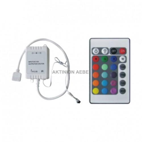 DIMMER LED RGB, 3 ΚΑΝΑΛΙΑ x2Α DCR-160