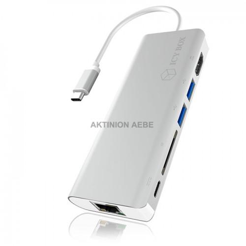 IB-DK4034-CPD Σταθμός σύνδεσης 6 θυρών για laptop USB 3.0 Type-C