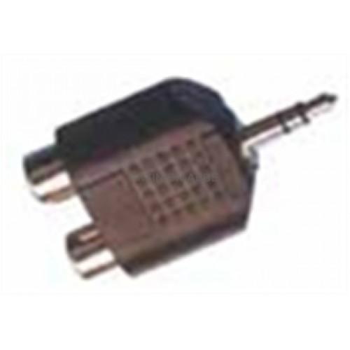 3.5MM A->2Χ(RCA Θ) STER TELE / ΚΑΛΩΔΙΩΣΕΙΣ - ΦΙΣ / CONNECTORS