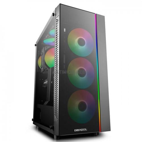 DEEPCOOL MATREXX 55 ADD-RGB 3F Κουτί με 3x120mm ADD-RGB ανεμιστήρες