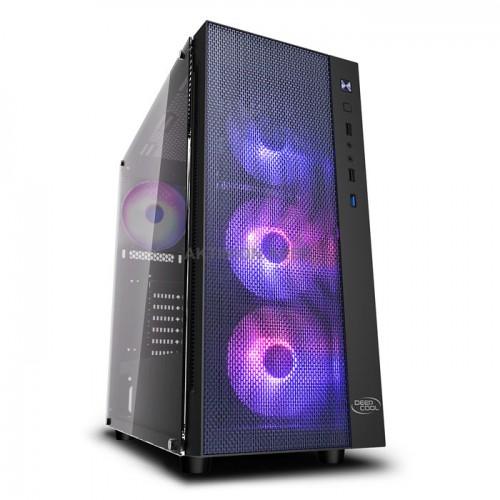 DEEPCOOL MATREXX 55 MESH ADD-RGB 4F Κουτί για μητρικές E-ATX ATX Micro-ATX και Mini-ITX