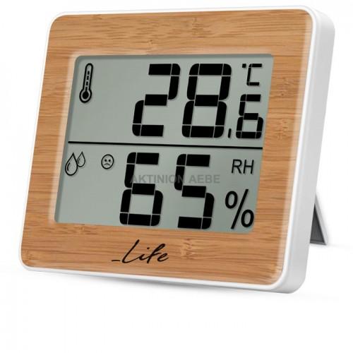 Ψηφιακό θερμόμετρο / υγρόμετρο LIFE WES-107