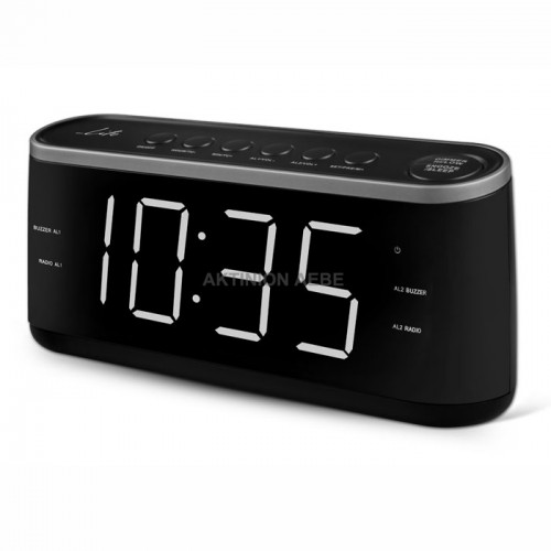 RAC-003 Ραδιόφωνο / Ρολόι / Ξυπνητήρι με οθόνη LED LIFE