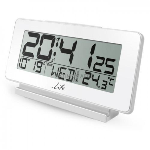 LIFE ACL-200 Ψηφιακό ρολόι ξυπνητήρι με θερμόμετρο εσωτερικού χώρου ημερομηνία