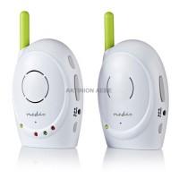 NEDIS BAMO110AUWT Ασύρματο baby monitor με δυνατότητα αμφίδρομης επικοινωνίας