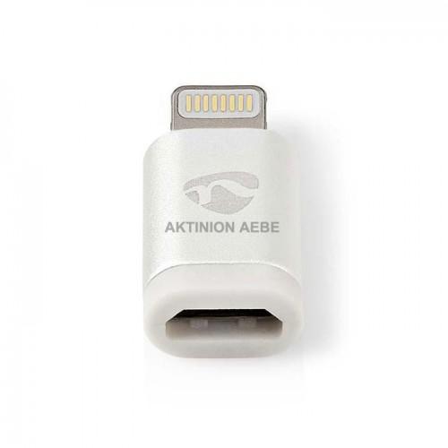 Αντάπτορας δεδομένων και φόρτισης 8-pin Lightning αρσ. σε USB 2.0 Micro B CCTB39901AL