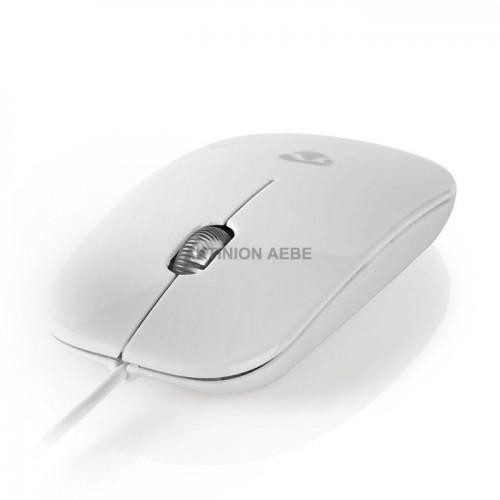 NEDIS MSWD200WT Εξαιρετικά λεπτό οπτικό ποντίκι USB 1000 dpi