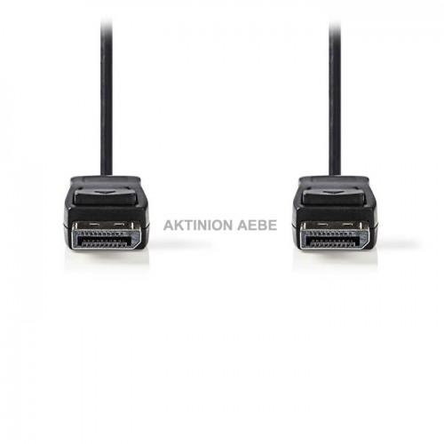 NEDIS CCGP37010BK30 Καλώδιο DisplayPort αρσ DisplayPort αρσ 3m