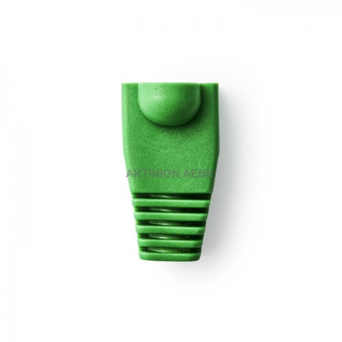 Strain Relief Boot for RJ45 Network Connectors -10 pieces Green NEDIS CCGP89900GN