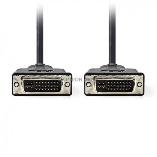 NEDIS CCGP32050BK20 Καλώδιο DVI-I αρσ DVI-I αρσ 2m