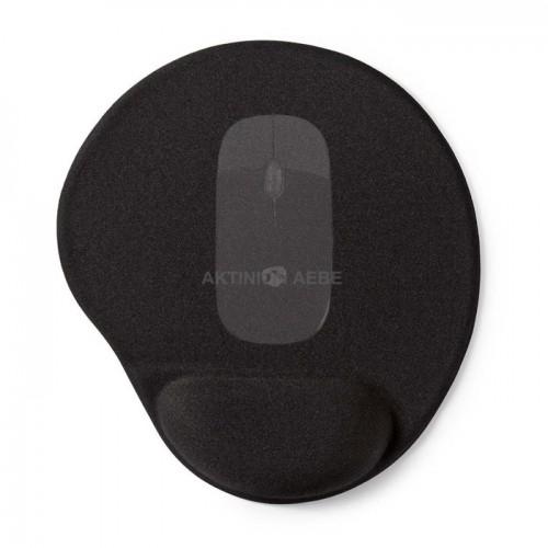 NEDIS MPADFG100BK Mousepad με μαξιλαράκι gel για την στήριξη του καρπού