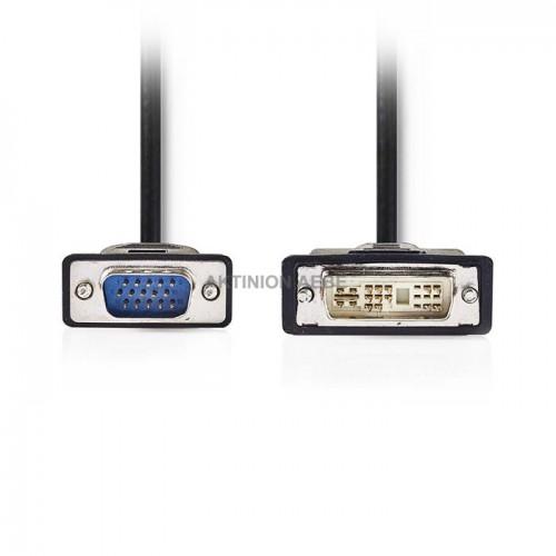 NEDIS CCGP32100BK20 Καλώδιο DVI-A αρσ VGA αρσ 2m