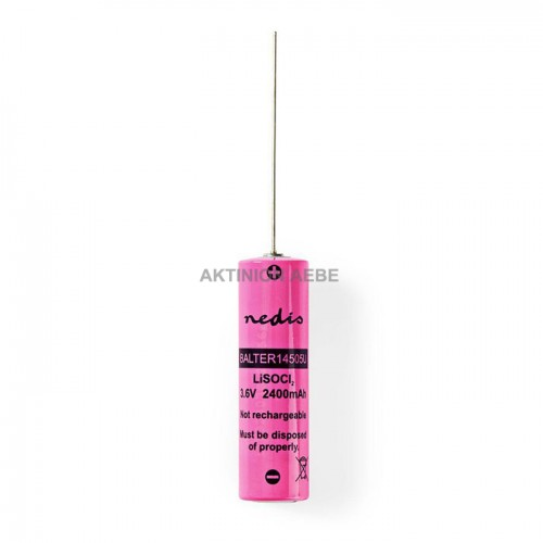 NEDIS BALTER14505U Μπαταρία Lithium Thionyl Chloride AA 3.6V 2400mAh με λαμάκια