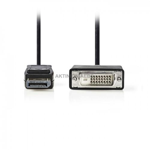 NEDIS CCGP37200BK20 Καλώδιο DisplayPort αρσ DVI-D αρσ 2m
