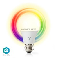 WiFi Smart LED Bulb E27 6W NEDIS WIFILC11WTE27