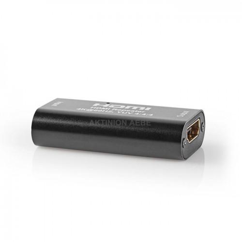 NEDIS VREP3475AT HDMI Repeater 4K 60Hz για επέκταση του σήματος μέχρι 40m