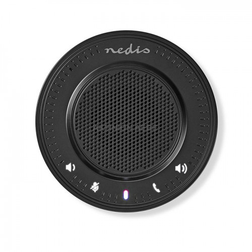 NEDIS CSPR10010BK Ηχείο τηλεδιάσκεψης με ενσωματωμένο μικρόφωνο και σύνδεση USB 2.5W