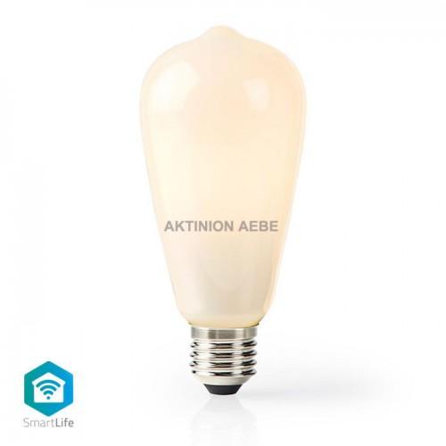 Wi-Fi Smart LED Bulb E27 5W NEDIS WIFILF11WTST64