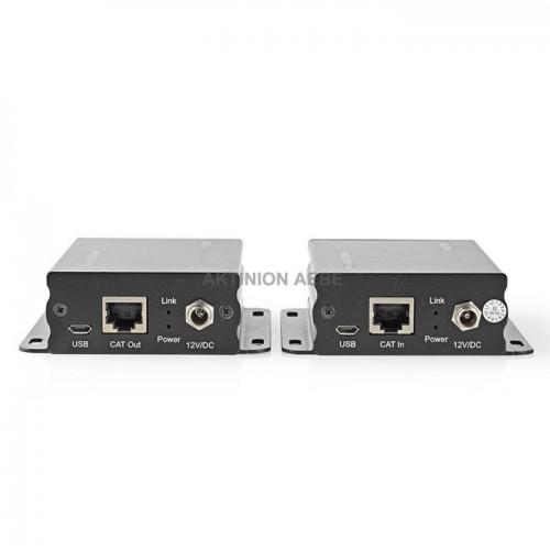NEDIS VREP3460AT HDMI Extender μέσω 2 καλωδίων UTP για επέκταση του σήματος μέχρι 50m