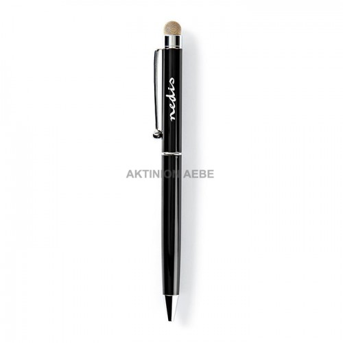 NEDIS STYLB201BK Γραφίδα στυλό με κλιπ για tablet και smartphone