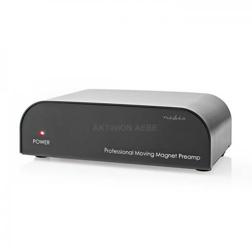 NEDIS AAMP2411BK Stereo προενισχυτής με είσοδο AUX / Phono