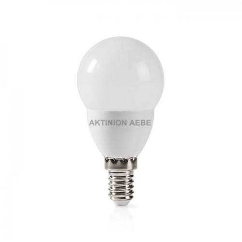 NEDIS LEDBE14G452 Λάμπα LED E14 G45 5.8W θερμό λευκό φως 470 lumen