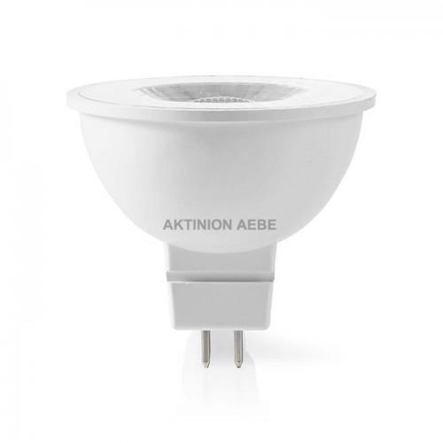 NEDIS LEDBGU53MR162 Λάμπα LED GU5.3 MR16 6W θερμό λευκό φως 450 lumen