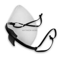 PLASTIC MULTI-PURPOSE FACE MASK Διάφανη πλαστική προστατευτική μάσκα προσώπου πολλαπλών χρήσεων