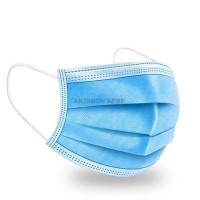3ply Disposable Face Mask Προστατευτικές μάσκες προσώπου με λάστιχο 50τμχ
