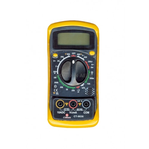 CT-9830 ΠΟΛΥΜΕΤΡΟ CT-BRAND Όργανα Μέτρησης & Ανίχνευσης